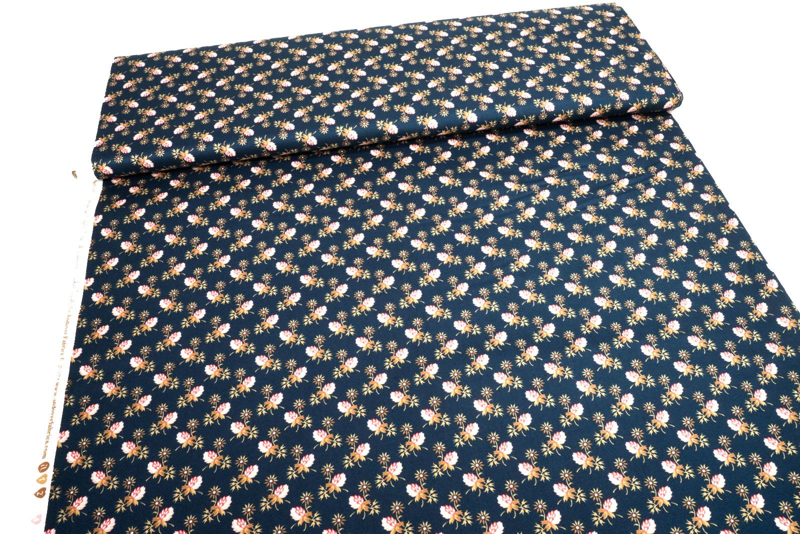Andover Super Bloom Clover dusk 29451 Edyta Sitar of Laundry Basket Quilts 0,5m